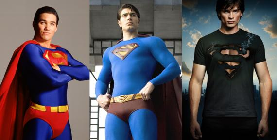 Dean Cain, Brandon Routh y Tom Welling