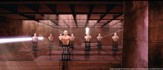 Concept art de X-Men: First Class / X-Men: Primera Generación (2011), por Thomas Whitehouse