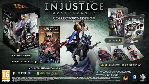 Collector's Edition de Injustice: Gods Among Us (2013)