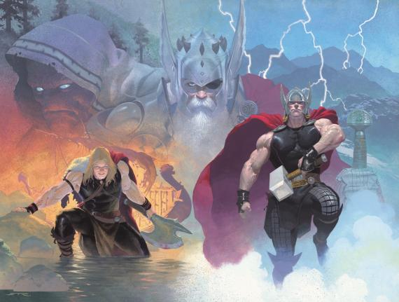 Thor: God Of Thunder #1 de Marvel NOW!
