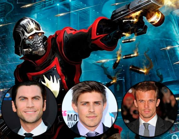 Wes Bentley, Chris Lowell y Cam Gigande son posible candidatos a ser Star-Lord en Guardians of the Galaxy (2014)