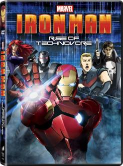Carátula de Iron Man: Rise of Technovore