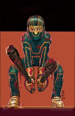 Primer artwork de Kick-Ass 3