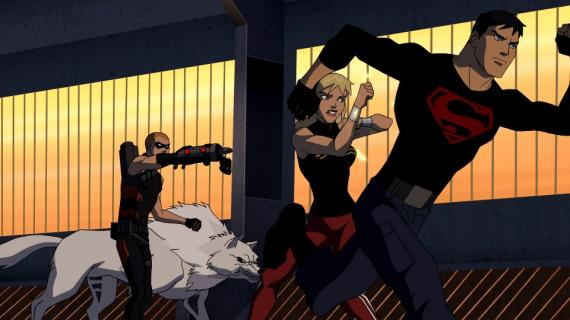 Young Justice 2x15: War