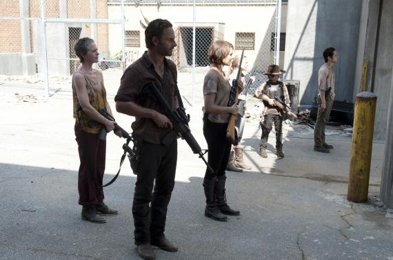 Imagen del episodio 3.11: I Ain't a Judas, de la tercera temporada de The Walking Dead (2012)