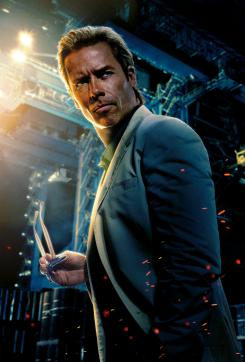 Imagen promocional de Iron Man 3 (2013), Guy Pearce es Aldrich Killian