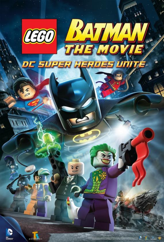 Póster de la película animada LEGO Batman: The Movie - DC Super Heroes Unite (2013)