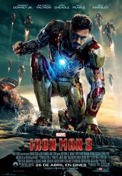Póster para España de Iron Man 3 (2013)