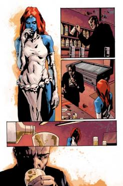 Imagen del comic Dark X-Men Issue #3, por Jock