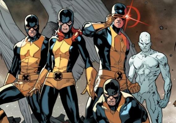Portada del cómic All-New X-Men #1, de Brian Michael Bendis y Stuart Immonen