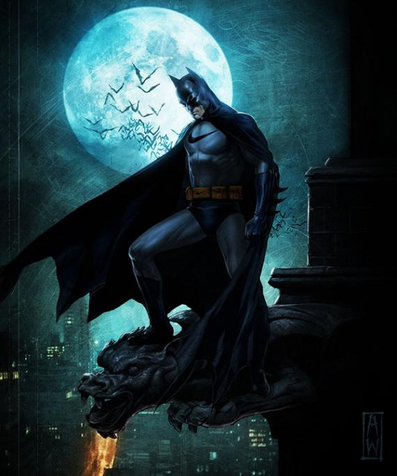 Sponsored Heroes, por Roberto Vergati Santos: Batman