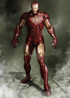 Sponsored Heroes, por Roberto Vergati Santos: Iron Man