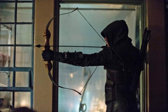 Arrow 1x19: Unfinished Business