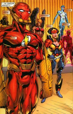 Justice Society en los cómics de Otros Mundos / Elseworlds