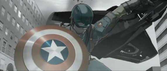 Artwork de Captain America: The Winter Soldier (2014)