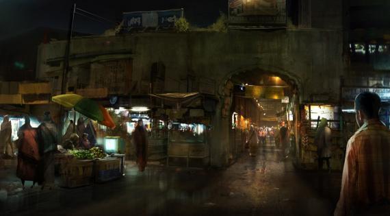 Concept art de Los Vengadores (2012), por Steve Jung