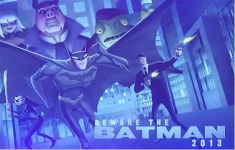 Concept art de la serie Beware the Batman