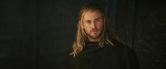 Captura del primer trailer de Thor: El Mundo Oscuro (2013)