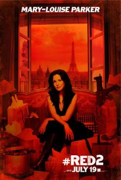 Póster individual de Red 2 (2013), Mary-Louise Parker