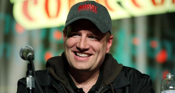 Kevin Feige, presidente de Marvel Studios