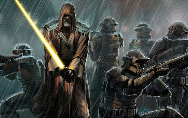Arte del juego Star Wars The Force Unleashed