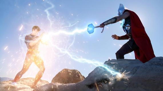 Fan-made: Thor vs Superman