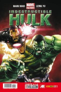 Portada para España de Indestructible Hulk nº 11