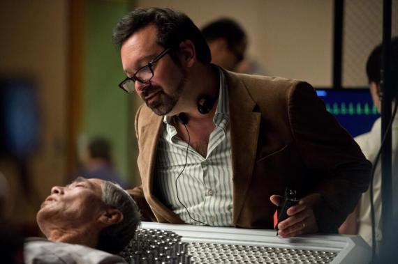 Imagen oficial del set de rodaje de The Wolverine / Lobezno Inmortal (2013)