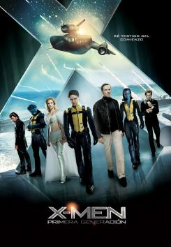 Póster para España de X-Men: First Class (X-Men: Primera Generación)