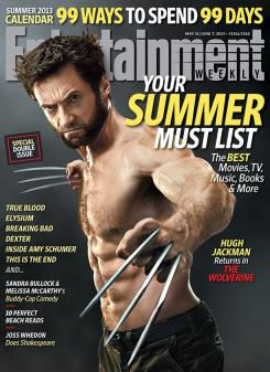 Lobezno Inmortal (2013) como portada del número Summer 2013 Calendar de Entertainment Weekly