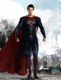 Imagen promocional de El Hombre de Acero (2013)