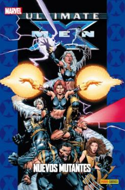 Ultimate X-Men: Nuevos Mutantes Portada