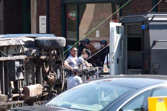Imagen del set de rodaje de Capitán América: El Soldado de Invierno (2014)
