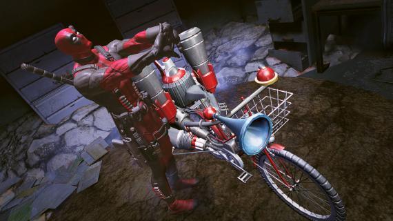 Captura del videojuego Masacre / Deadpool (2013)