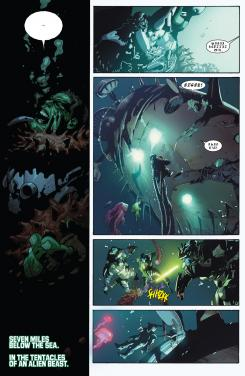 Interior del cómic estadounidense Indestructible Hulk #5