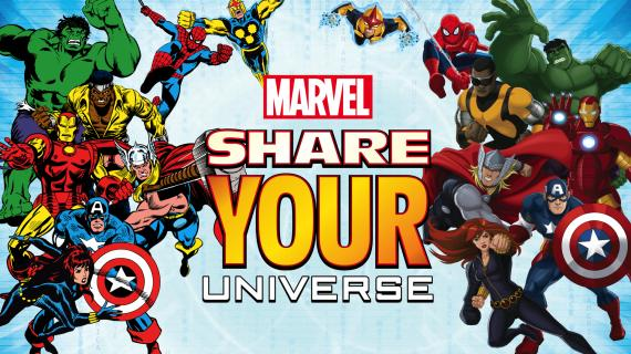 Marvel Share Your Universe Banner