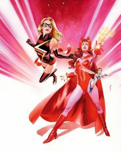 Ms Marvel, Bruja Escarlata y la Avispa