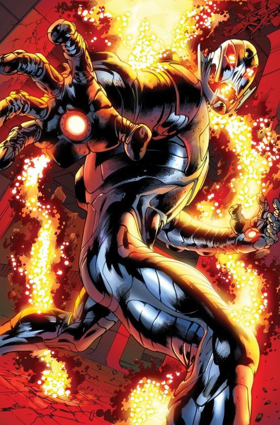 Ultrón en los cómics Marvel