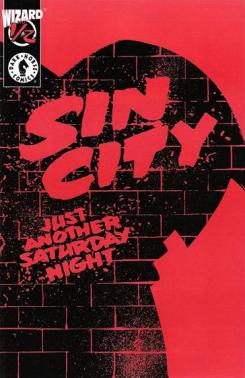 Portada del cómic de Sin City: Just Another Satuday Night