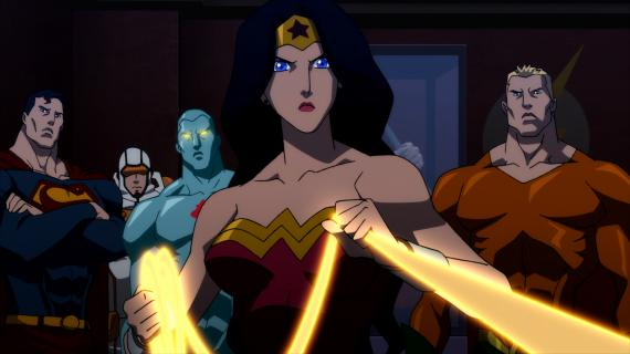 Imagen de la cinta animada Justice League: The Flashpoint Paradox (2013)