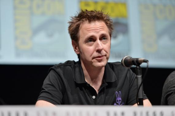 James Gunn en el panel de Guardianes de la Galaxia (2014) en la San Diego Comic Con 2013