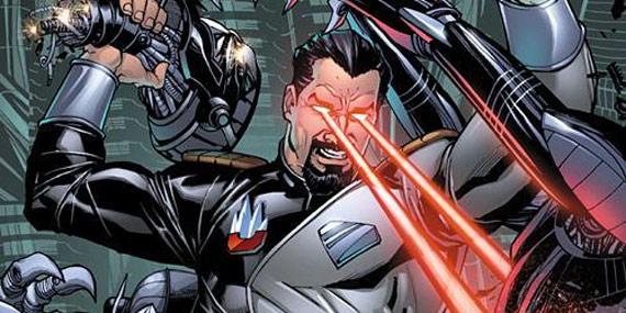 Imagen de los cómics del General Zod