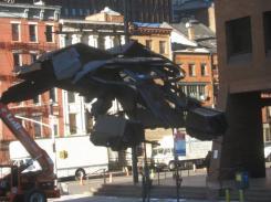 Imagen del set de The Dark Knight Rises
