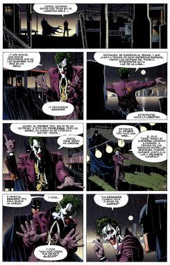 Imagen del cómic The Killing Joke (La Broma Asesina)