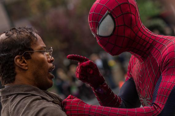 Imagen de producción de The Amazing Spider-Man 2 (2014)