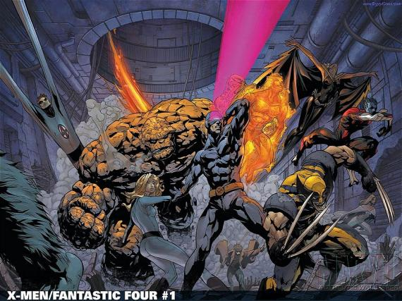 X-Men / Fantastic Four Crossover