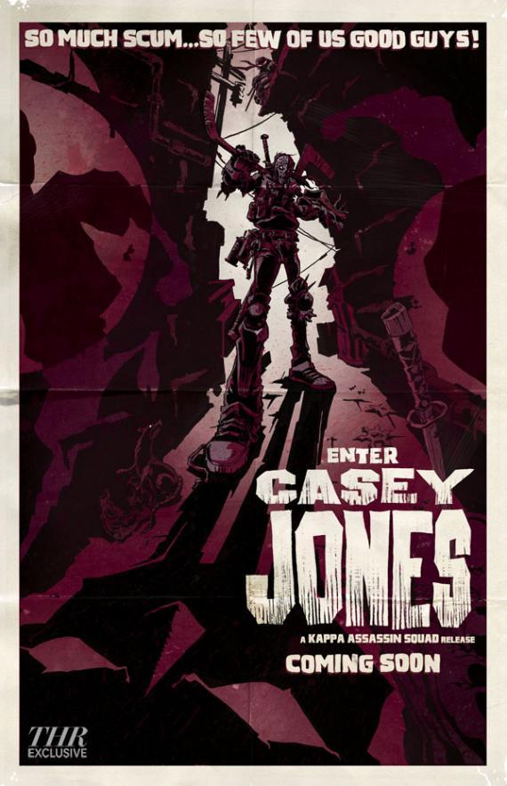 Póster de presentación de Casey Jones en la segunda temporada de Teenage Mutant Ninja Turtles