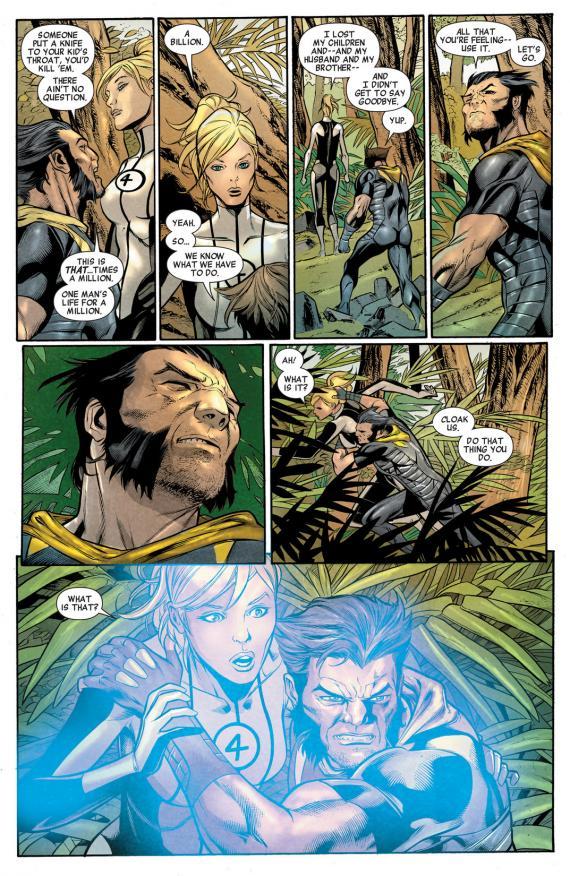 Imagen del cómic estadounidense Age of Ultron #6, dibujo por Carlos Pacheco