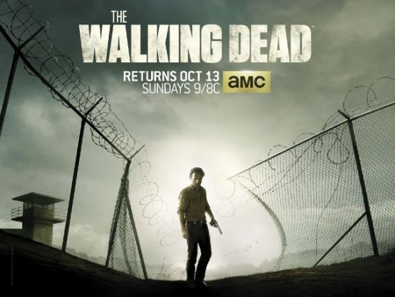 Póster de la cuarta temporada de The Walking Dead