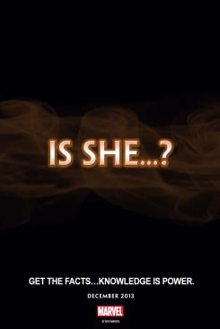 "Avance de Marvel Comics ""Is She...?"""